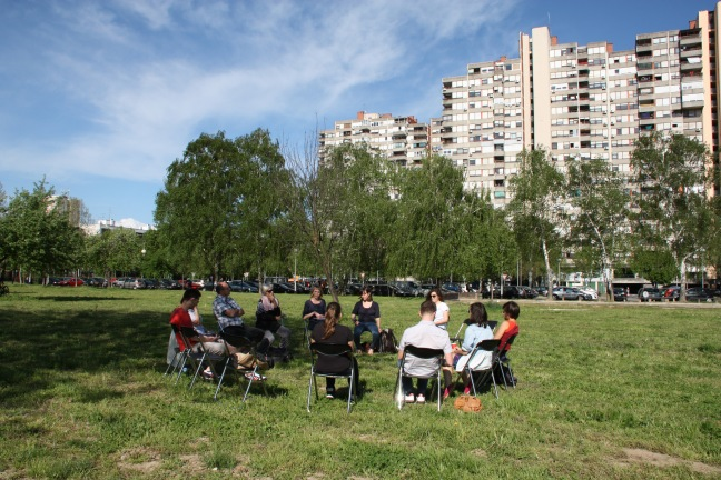 Conversation circle, photo Petra Vidovic
